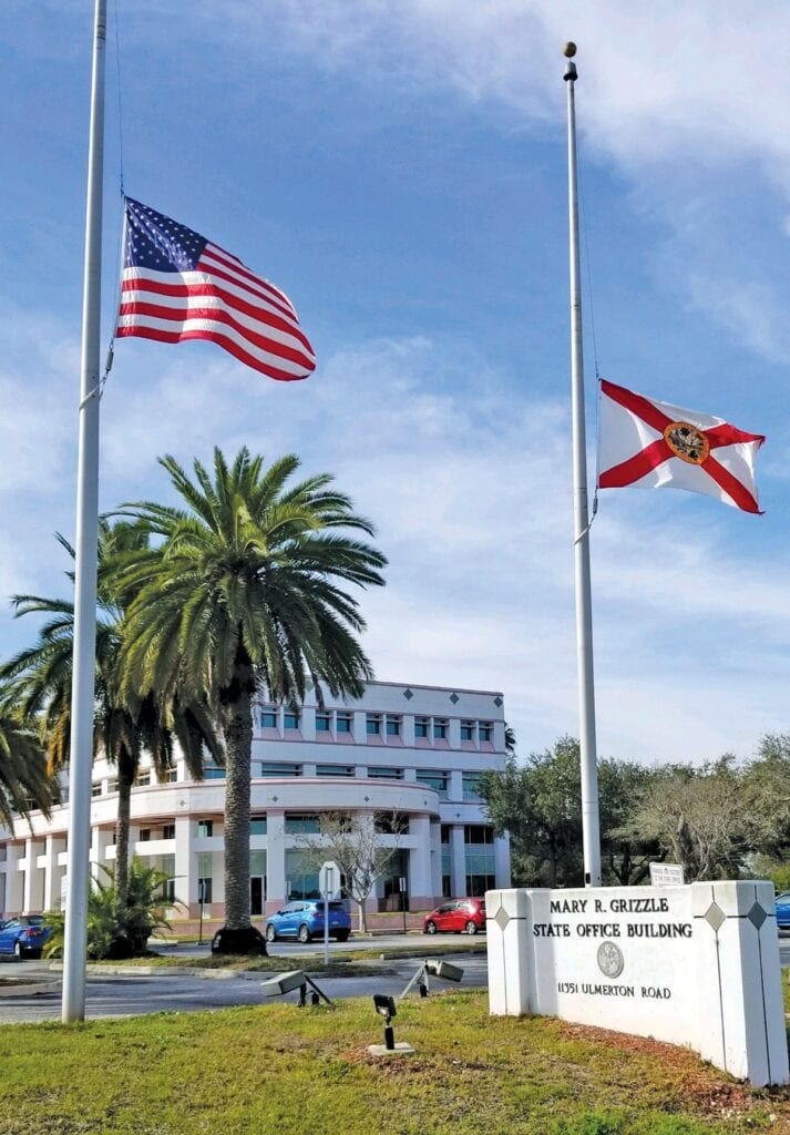 In Florida first, flags lowered to remember Shoah ...